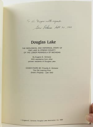 Douglas Lake: The geological and historical story of one lake in Otsego County of the Lower ...