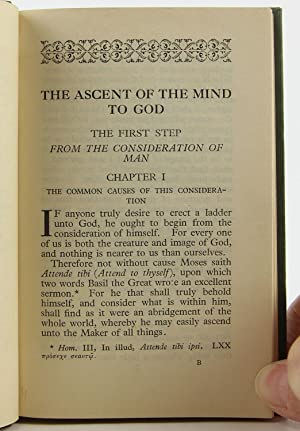 The ascent of the mind to God by a ladder of things created, (The Orchard books, XVI): Bellarmino, ...