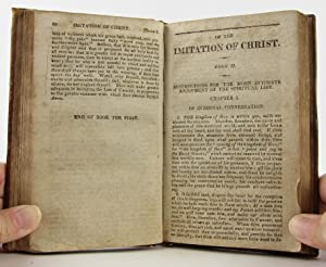 OF THE IMITATION OF CHRIST; In Three Books: Payne, John