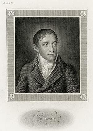 Portrait engraving of Christoph August Tiedge.: TIEDGE, C. A.