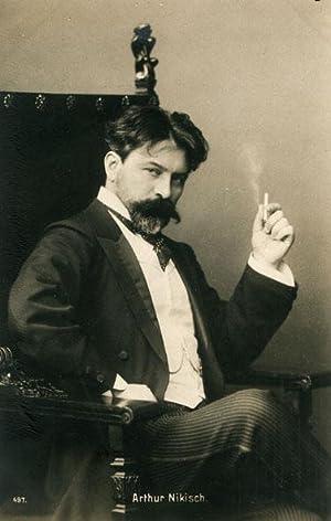 Portrait of Arthur Nikisch.: NIKISCH, Arthur.