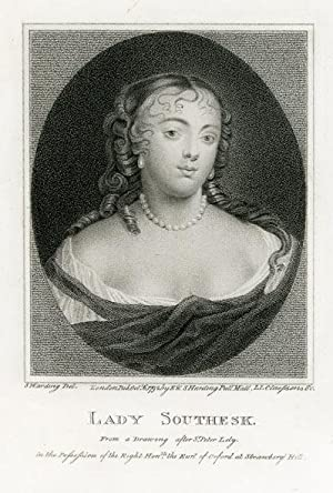 Portrait engraving of Lady Anne Hamilton, Countess of Southesk.: SOUTHESK, Lady.