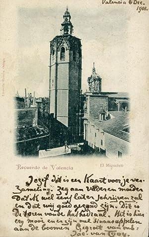 Postkaart aan Jozef (J.W.L. Alberdingk Thijm), oudste zoon van Lodewijk van Deyssel.: LOOY, Jac. ...