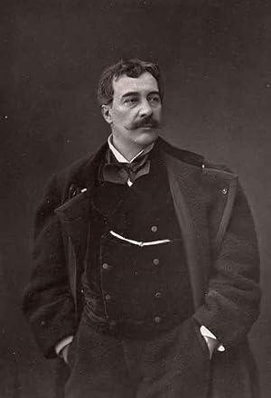 Portrait of Alfred Émile Léopold Stevens, by Mulnier.: STEVENS, Alfred.