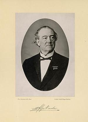 Portrait of Willem Frederic Gerard Nicoaï, photographed: DEUTMANN & Zn.