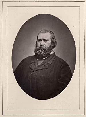 Portrait of Jean-François Millet.: MILLET, Jean-François.