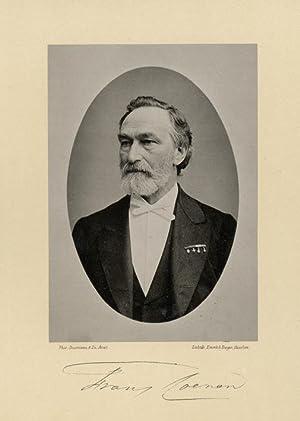 Portrait of Franciscus Hendrikus Coenen, photographed by: DEUTMANN & Zn.