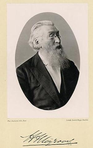 Portrait of Henderik Albert Meyroos, photographed by: DEUTMANN & Zn.