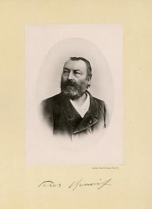 Portrait of Peter Leonardus Leopoldus Benoit, photographed: DEUTMANN & Zn.