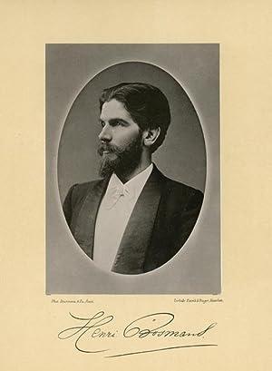Portrait of Hendrik (Henri) Bosmans, photographed by: DEUTMANN & Zn.