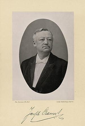 Portrait of Joseph Hubert Cramer, photographed by: DEUTMANN & Zn.
