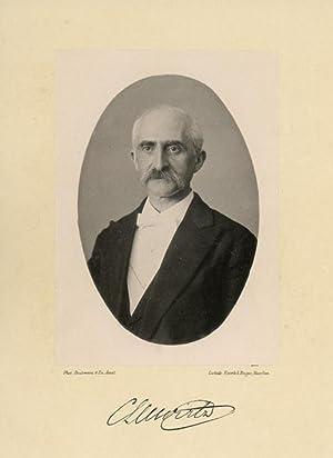 Portrait of Carel Lodewijk Willem Wirtz, photographed: DEUTMANN & Zn.