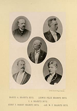 Portrait of Marius A. Brandts Buys, Ludwig: DEUTMANN & Zn.