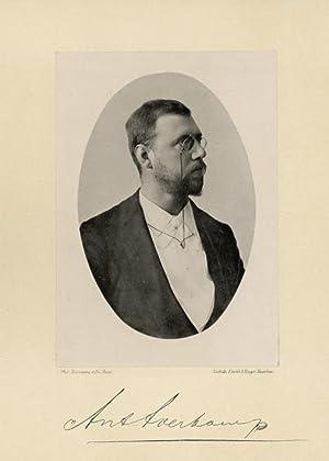 Portrait of Anton Averkamp, photographed by Deutmann: DEUTMANN & Zn.