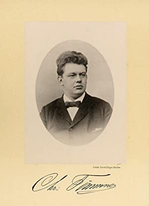 Portrait of Christiaan Timmner, photographed by Deutmann: DEUTMANN & Zn.