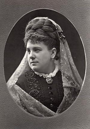 Portrait of Marie Belval (Julie Pauline Marie Gaffiot) by Liébert.: BELVAL, Marie.