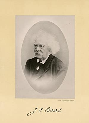 Portrait of Jan Conradus Boers, photographed by: DEUTMANN & Zn.