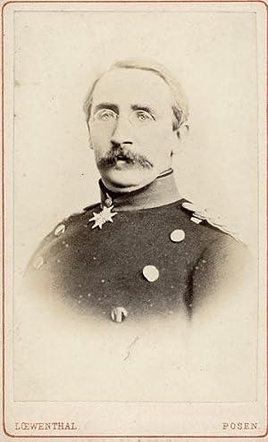 Portrait of August Karl Friedrich Christian von Goeben.: LOEWENTHAL, Oswald.