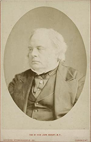 Portrait of the Rt. Hon. John Bricht, M.P.: LONDON STEREOSCOPIC AND PHOTOGRAPHIC COMPANY, The.
