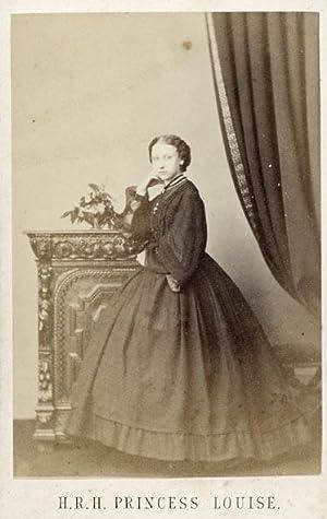 Portrait of Princess Louise: HUGHES, Jabez.
