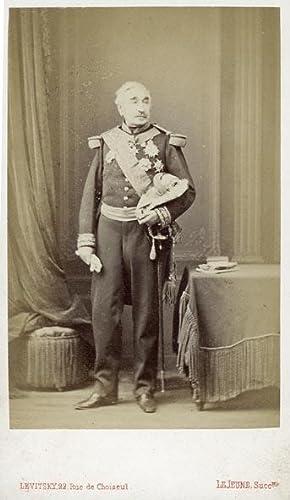 Portrait of Charles Cousin-Montauban, Comte de Palikao.: LEVITSKY - LE