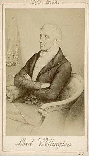 Portrait of Lord Wellington, Arthur Wellesley.: ND. PHOT.