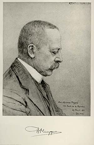 Portrait of Willem Pluygers, after an etching: PLUYGERS, Willem.