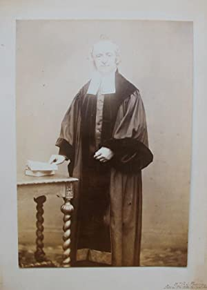 Portrait of Hendrik Johan Reinhold Gerard Theesing, Predikant te Rotterdam.: THEESING, H. J. R. G.