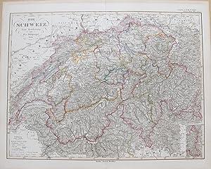 Die Schweiz.: STIELER, Adolf.