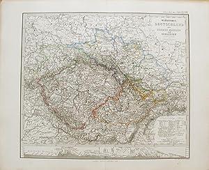 Östliches Deutschland oder Böhmen, Mähren und Schlesien.: STIELER, Adolf.