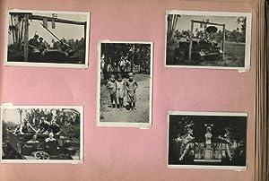 Photo Album. Regiment Jagers. Herinneringen uit Indië.: PARDOEN, J.
