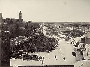Jerusalem. Plain of Rephaim from Jaffa Gate.: AMERICAN COLONY.
