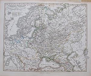 Euriopäisches Russland auch Schweden und Norwegen. Dabei Des Oesterreichischen und Preussischen ...
