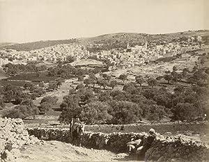 Vue générale d'Hebron.: BONFILS, Félix.