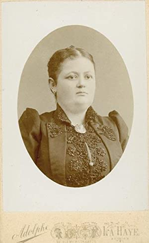 Portret van Johanna Ida Pietronella de Bank: ZIMMERMANS, Adolphe.