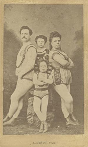 Portrait of a circus-family.: GIROT FILS, L.
