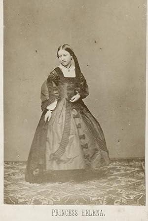 Portrait of Princess Helena.: MAYALL, John.
