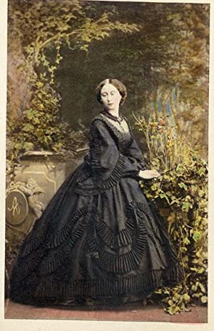 Portrait of Princess Alice, Grand Duchess of Hesse.: SILVY, Camille.