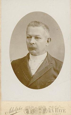 Portret van Hendrik Jan Laurens de Bank: ZIMMERMANS, Adolphe.