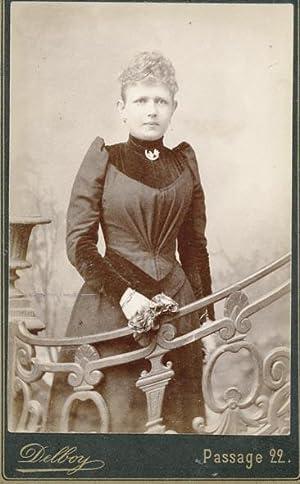 Portret van Anna Lucia Wilhelmina de Bank: DELBOY.