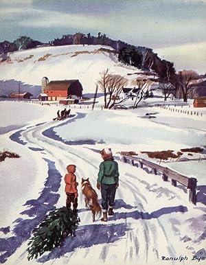 Christmas card, 1967.: BYE, Ranulph.