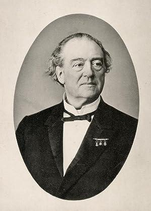 Portrait of Willem Frederik Gerard Nicolaï photographed: DEUTMANN & Zn.