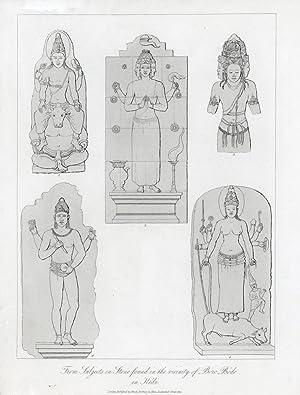 From Subjects in Stone found in the vianity of Bóro Bódo in Kedú.: KEDÚ.