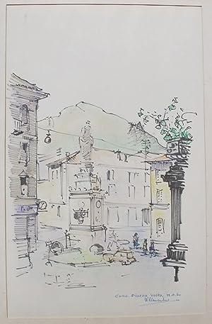 Como, Piazza Volta.: VERMEULEN, W.