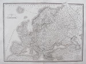 Carte de l'Europe.: LAPIE, M. (Pierre), Alexandre Emile LAPIE.