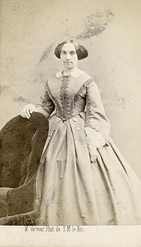 Portret van Mimi Langlois van den Bergh: VERVEER, M.