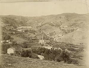 Frais-Vallon et Pic de la Boudzareah.: ALGER.