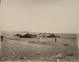 Nomad camp.: ALGERIA-TUNESIA.