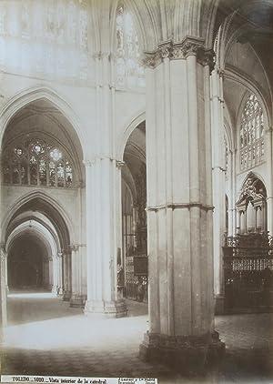 Toledo. Vista interior de la catedral.: LAURENT y Cie,