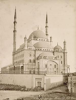 Mosquée de Mohamet Ali Caire.: ZANGAKI (C. & G. Zangaki Brothers).